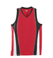 Girls Wicking Mesh Lacrosse Advantage Jersey with Racerback