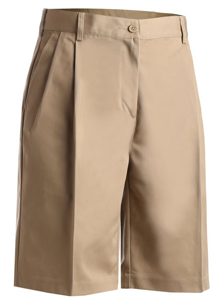 Edwards Pleated Utility Shorts - Womens