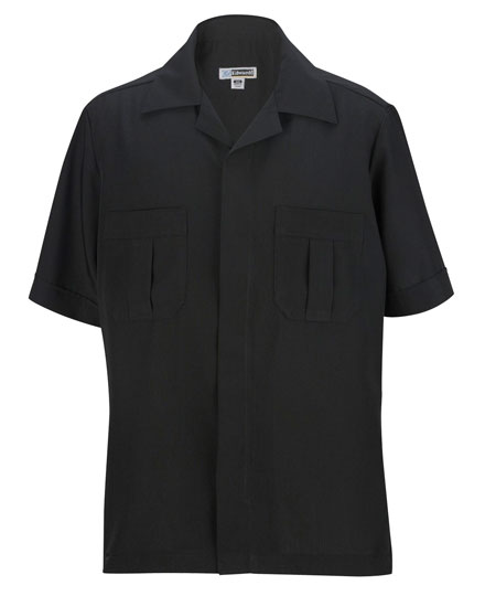 Edwards Service Shirt Spun Poly Mens