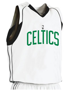 NBA Team Celtics Youth Game Jersey