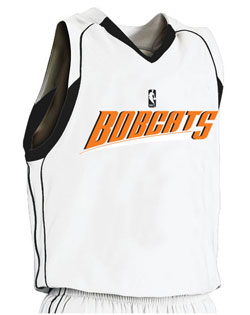 NBA Team Bobcats Youth Game Jersey