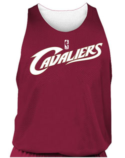 NBA Team Cavaliers Adult Reversible Basketball Jersey