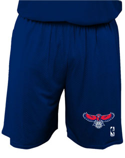 NBA Team Hawks Adult Short 7