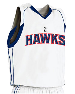 NBA Team Hawks Adult Game Jersey