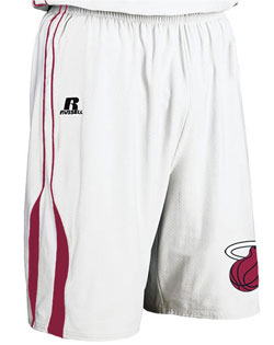 NBA Team Heat Adult Game Short
