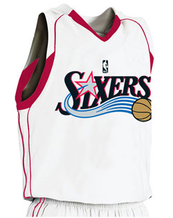 NBA Team Sixers Youth Game Jersey