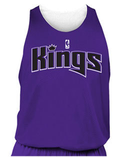 NBA Team Kings Adult Reversible Basketball Jersey