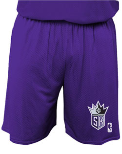NBA Team Kings Adult Short 7