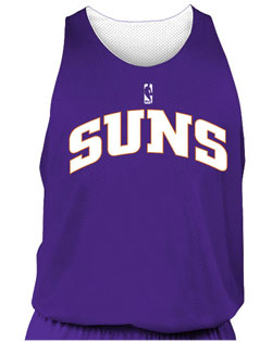 NBA Team Suns Adult Reversible Basketball Jersey