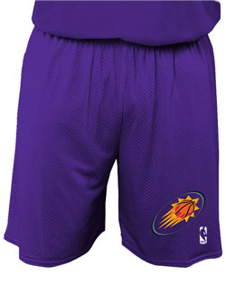 NBA Team Suns Adult Short 7