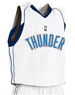 NBA Team Thunder Youth Game Jersey