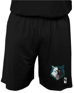 NBA Team Timberwolves Youth Short 7