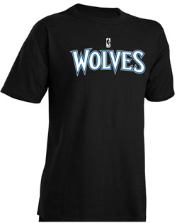 NBA Team Timberwolves Adult Nublend � T-Shirt