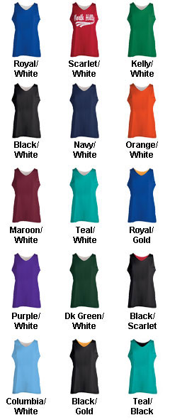 Girls Mini Mesh Reversible Tank - All Colors