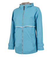 Womens New Englander Rain Jacket by Charles River Apparel
