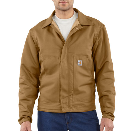 Carhartt Jacket Sandstone Dearborn Sherpa Lined Mens