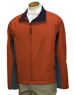 Jacket Sport Active Soft-shell Color-Block Mens