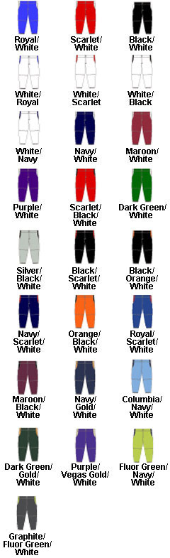 Girls Changeup Softball Pant - All Colors