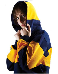 Rugby Shirt Hooded