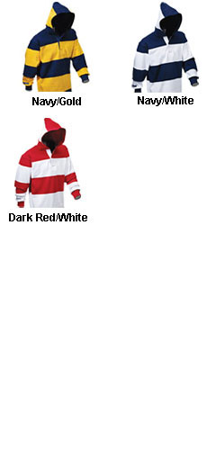 Hooded Rugby Shirt - All Colors