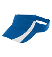 Adult Adjustable Wicking Mesh Two-Color Visor