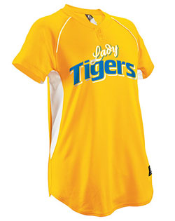 Russell Softball Jersey Snap Placket Womens