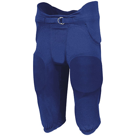 Russell Polyester Integrated 7-Piece Pad Football Pant - Youth