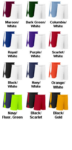 Adult Overdrive Reversible Short with 9 Inseam - All Colors