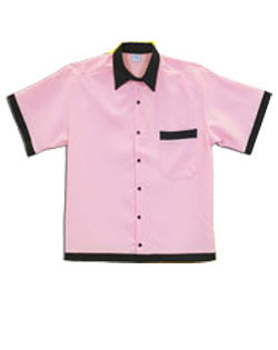 Bowler Shirt Classic Retro 50s Childrens