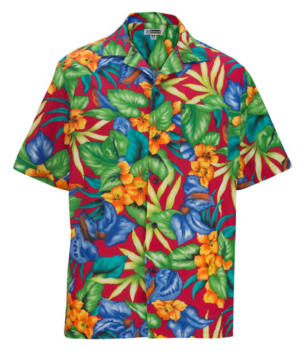 Edwards Camp Shirt Hawaiian