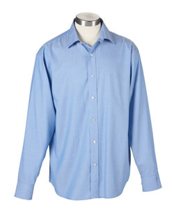 Ashworth Shirt EZ-TECH� Herringbone Woven Mens