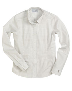 Ashworth Shirt EZ-TECH� Check Woven Womens