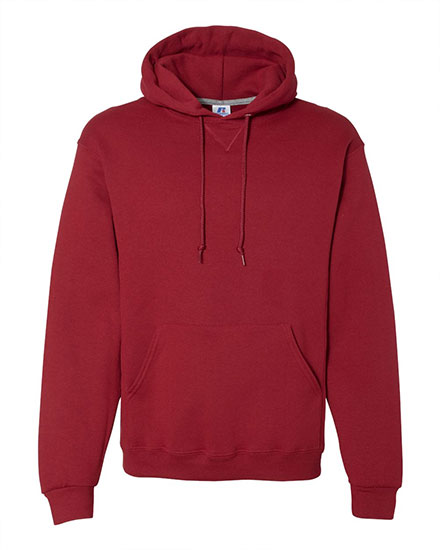 Russell Hooded Pullover Dri-Power Sweatshirt - Adult Mens