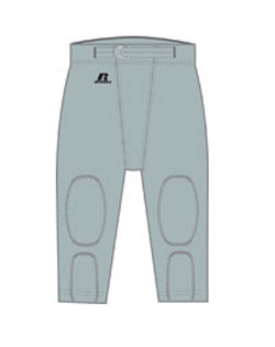 Russell Athletic Football Pant Half Belt With Snaps Practice Youth