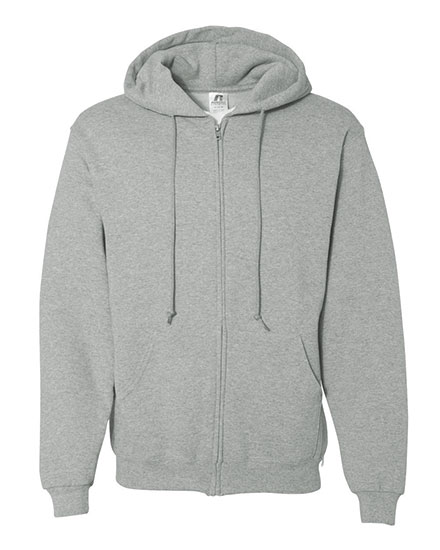 Russell Dri-Power® Sweatshirt Zip Front Hooded