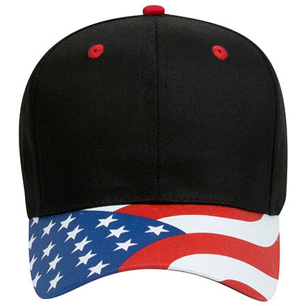 The Patriotic Look Cap Structured Firm Front Panel