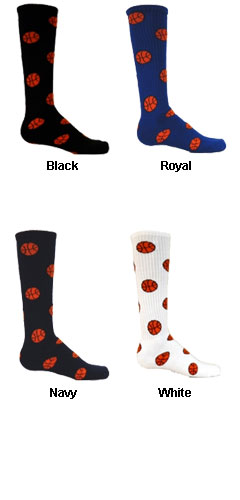 Adult Red Lion Basketball Socks - All Colors