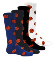 Adult Red Lion Basketball Socks