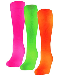 Socks Intermediate Fluorescent Patriot Athletic Tube