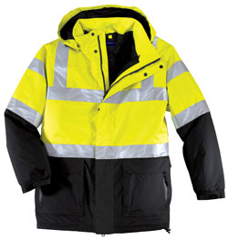 Safety Parka ANSI CLass 3 Heavyweight
