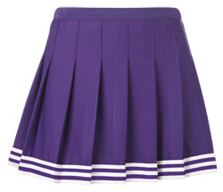 Teamwork Athletic Cheer Skirt 4048 Poise Girls