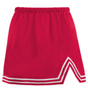 Adult A-Line Cheer Skirt With V-Notch