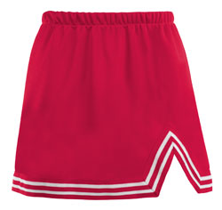 Teamwork Athletic Cheer Skirt 4082 A-Line With V-Notch Girls
