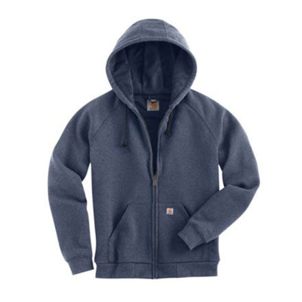 Carhartt Sweatshirt Hooded Zip-Front Thermal Lined Womens