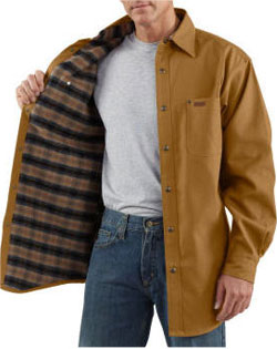 Carhartt Shirt Jacket Canvas Mens