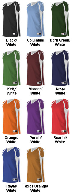 Reversible Basketball Jersey by Alleson Athletic - All Colors