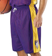 Adult Basketball Replica Reversible Short by Alleson