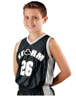 Alleson Reversible Replica Basketball Jersey - Youth