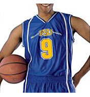 Mens eXtreme Dazzle Reversible Basketball Game Jersey