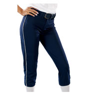 Womens 14 oz Low Rise Piped Pro Style Pant
